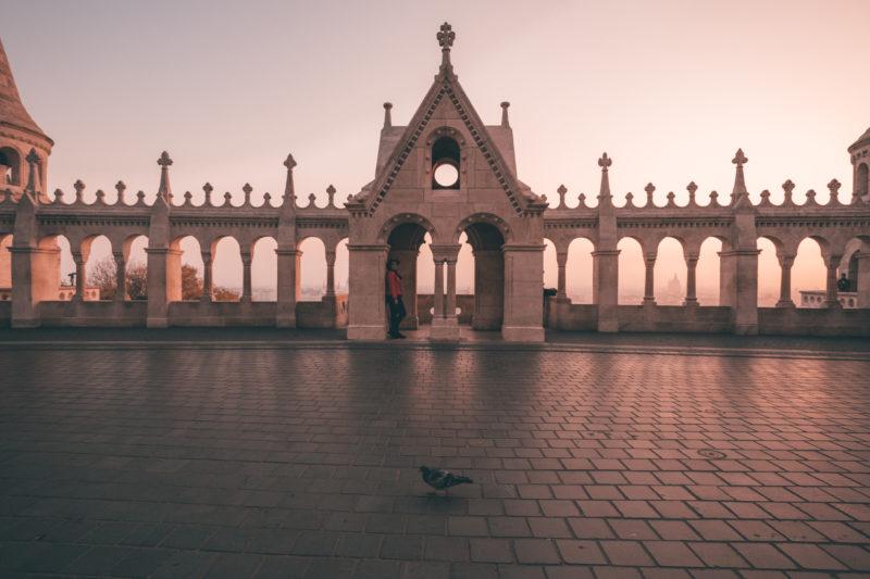 Best Instagram Spots in Budapest: Fisherman's Bastion Sunrise