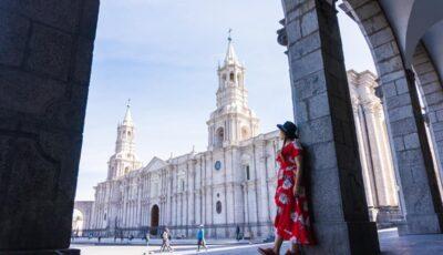 Basilica Cathedral of Arequipa + La Plaza de Armas
