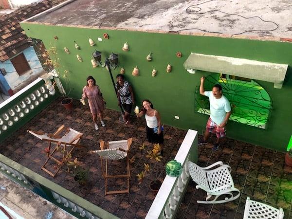 anfitriones en Trinidad Cuba