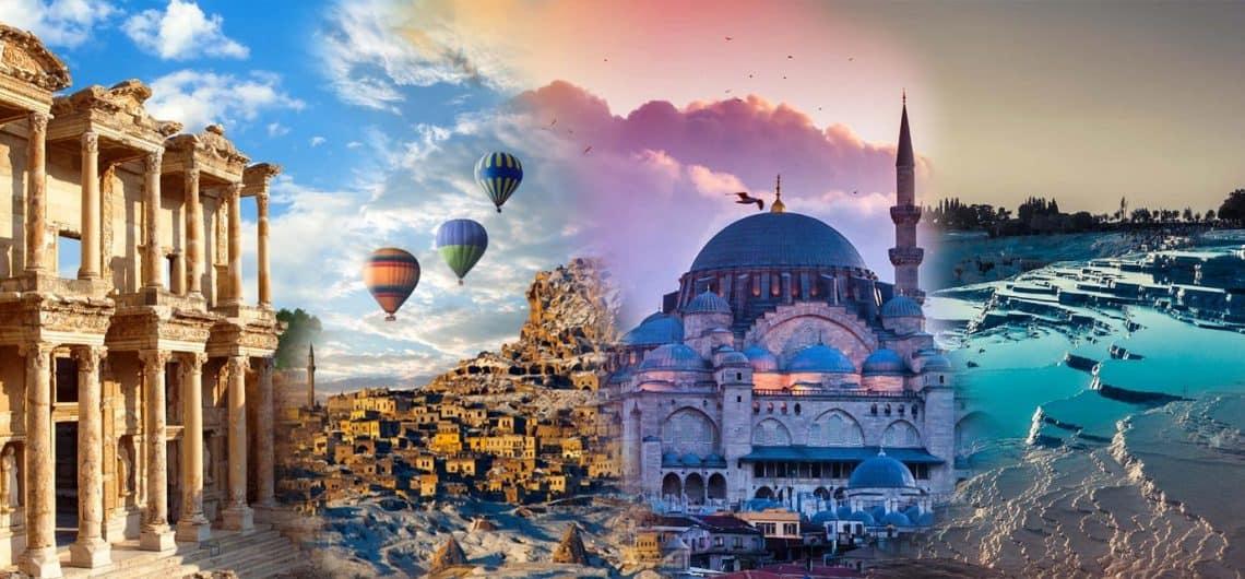 أفضل 10 أماكن سياحية متنوعة يتوجب عليك زيارتها في تركيا