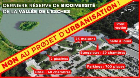 Chambly veut de nouveau urbaniser le Plan d'Eau du Mesnil-Saint-Martin