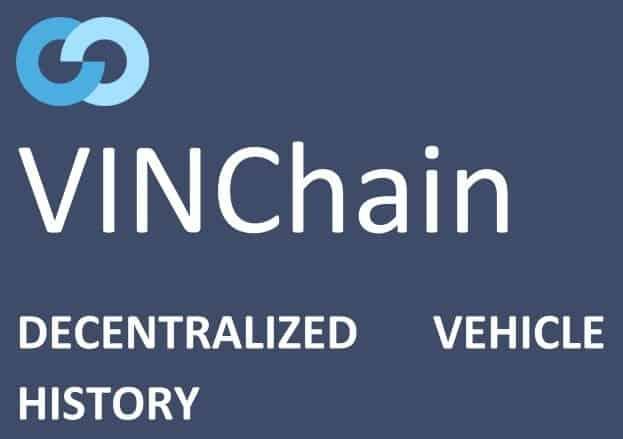 VINChain - vehicle history