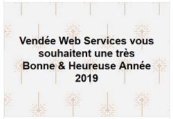 Voeux de Nouvel An de Vendée Web Services