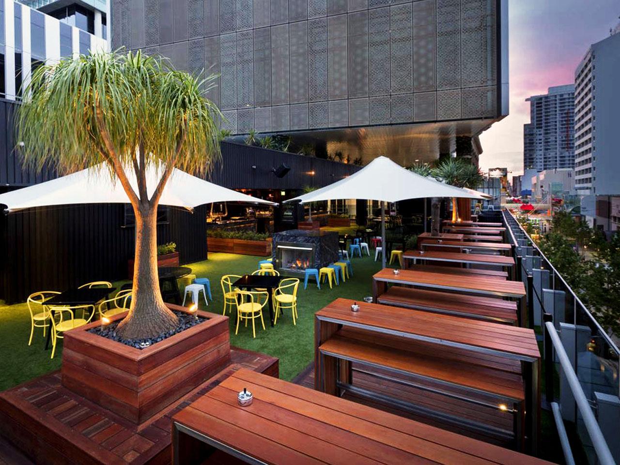 Rooftop venue hire