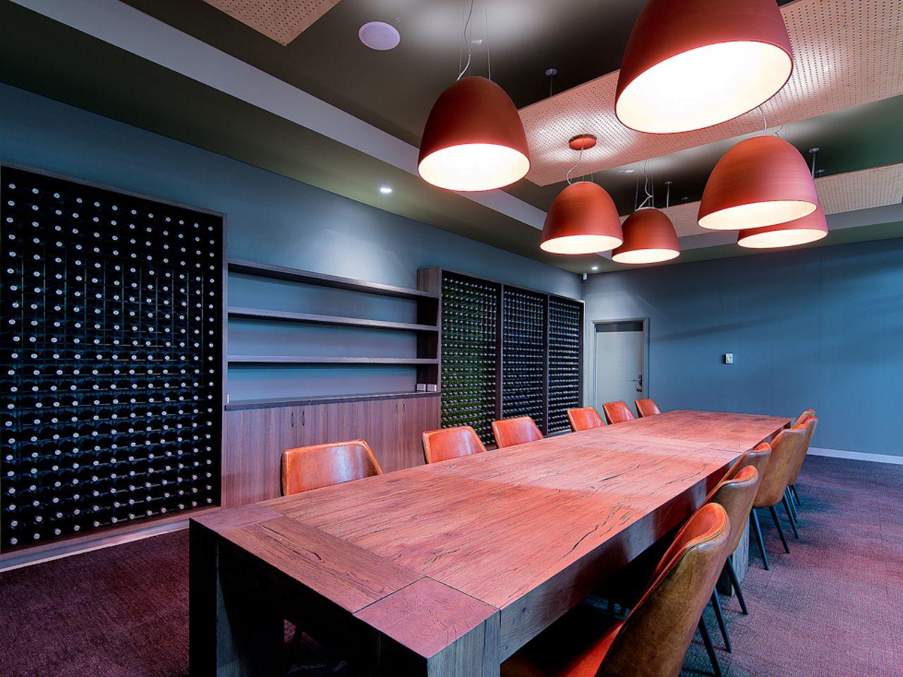 Underground wine cellar hire
