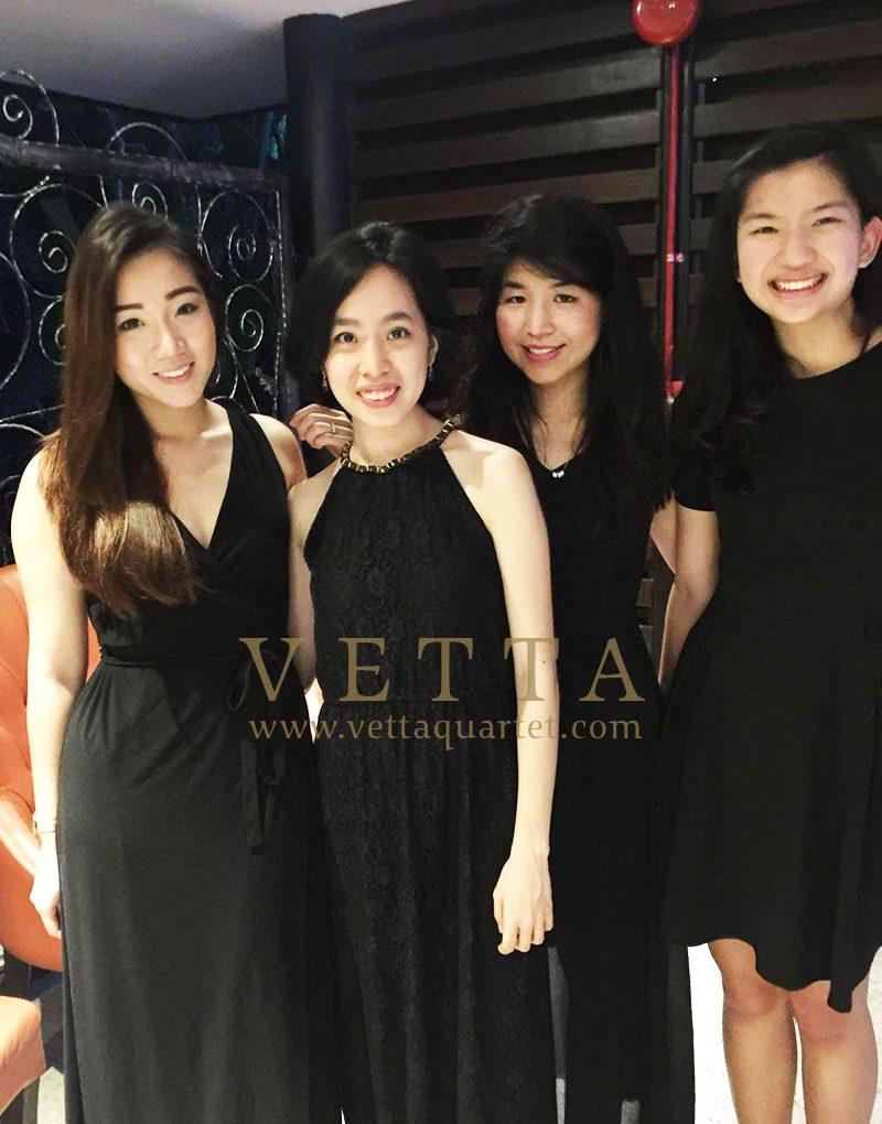 Esta Quartet for SITCE Welcome Reception at Villa Hallia, Botanic Gardens