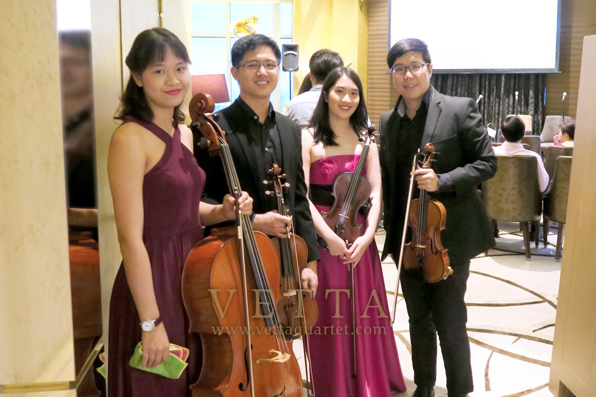 String Quartet for Corporate Event