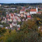 Bad Urach - Marktplatz mit Rathaus