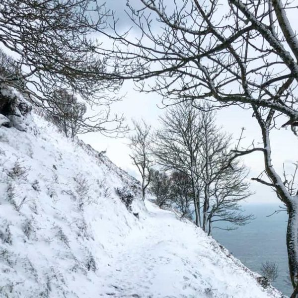 Lynton Lynmouth Christmas Snow Walk