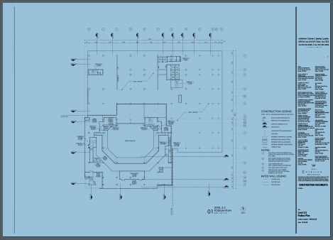 scanned drawing when selected turns blue raster PDF