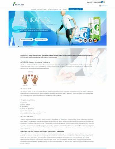 Acuraflex.com arthrtitis
