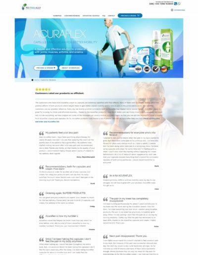 Acuraflex.com customer reviews