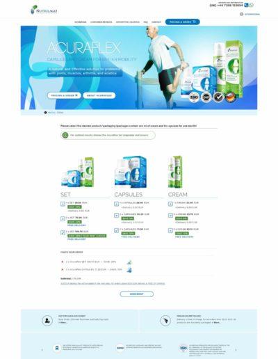 Acuraflex.com order page