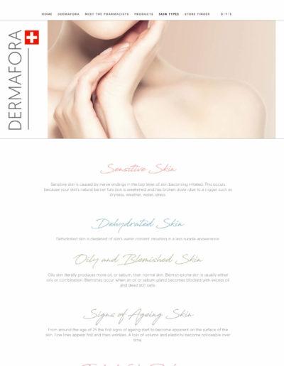 Dermafora.ch skin types