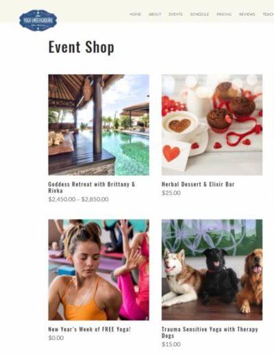 Yogaundergroundutah.com - Event shop