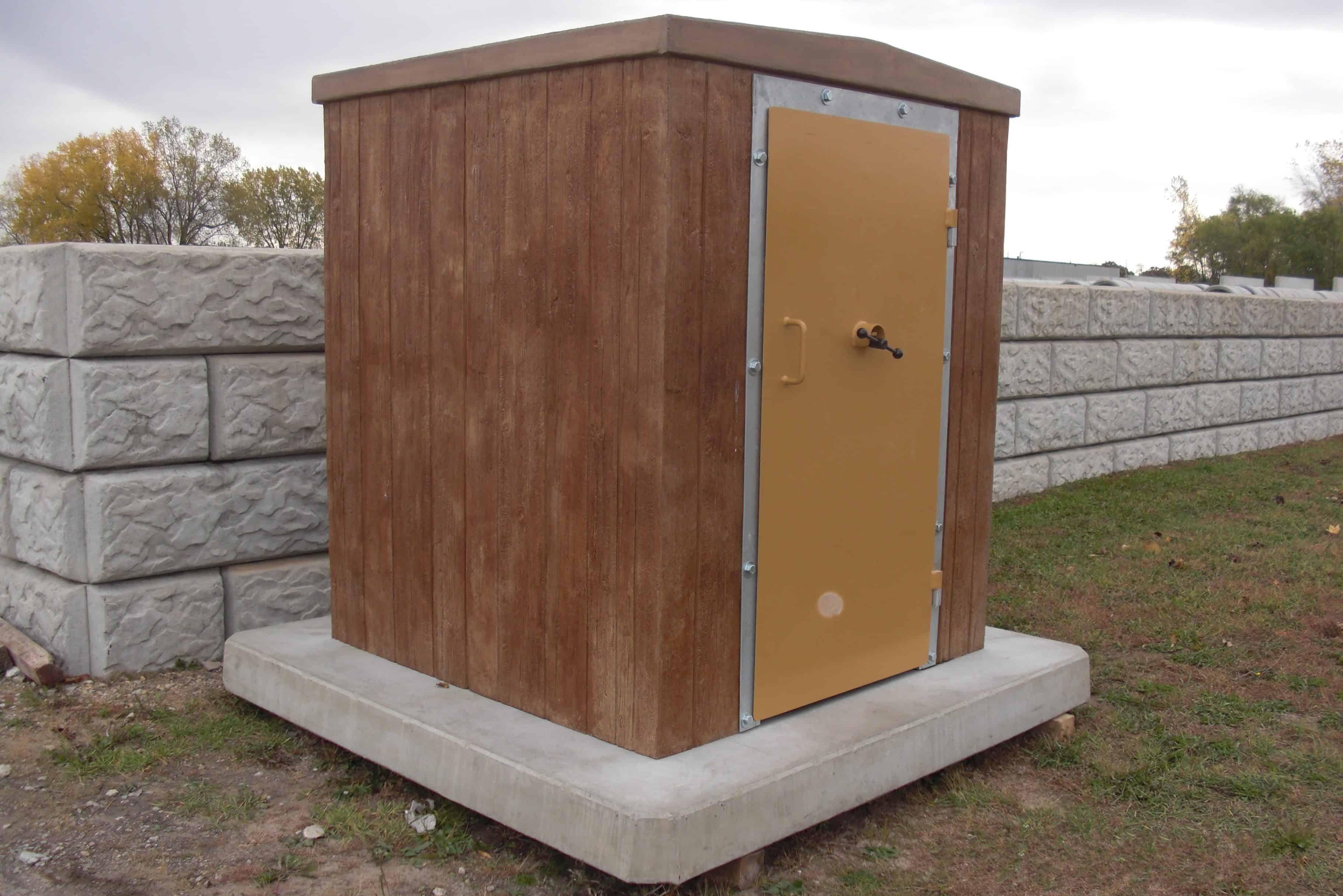 Precast Concrete Storm Shelter 8 Person NSSA