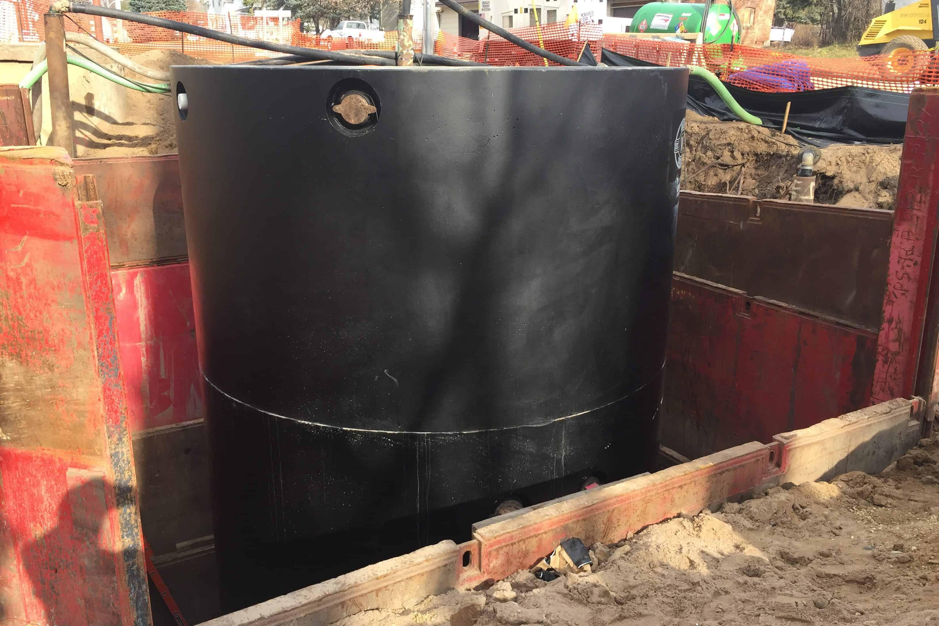 Precast Concrete Stormwater Manhole