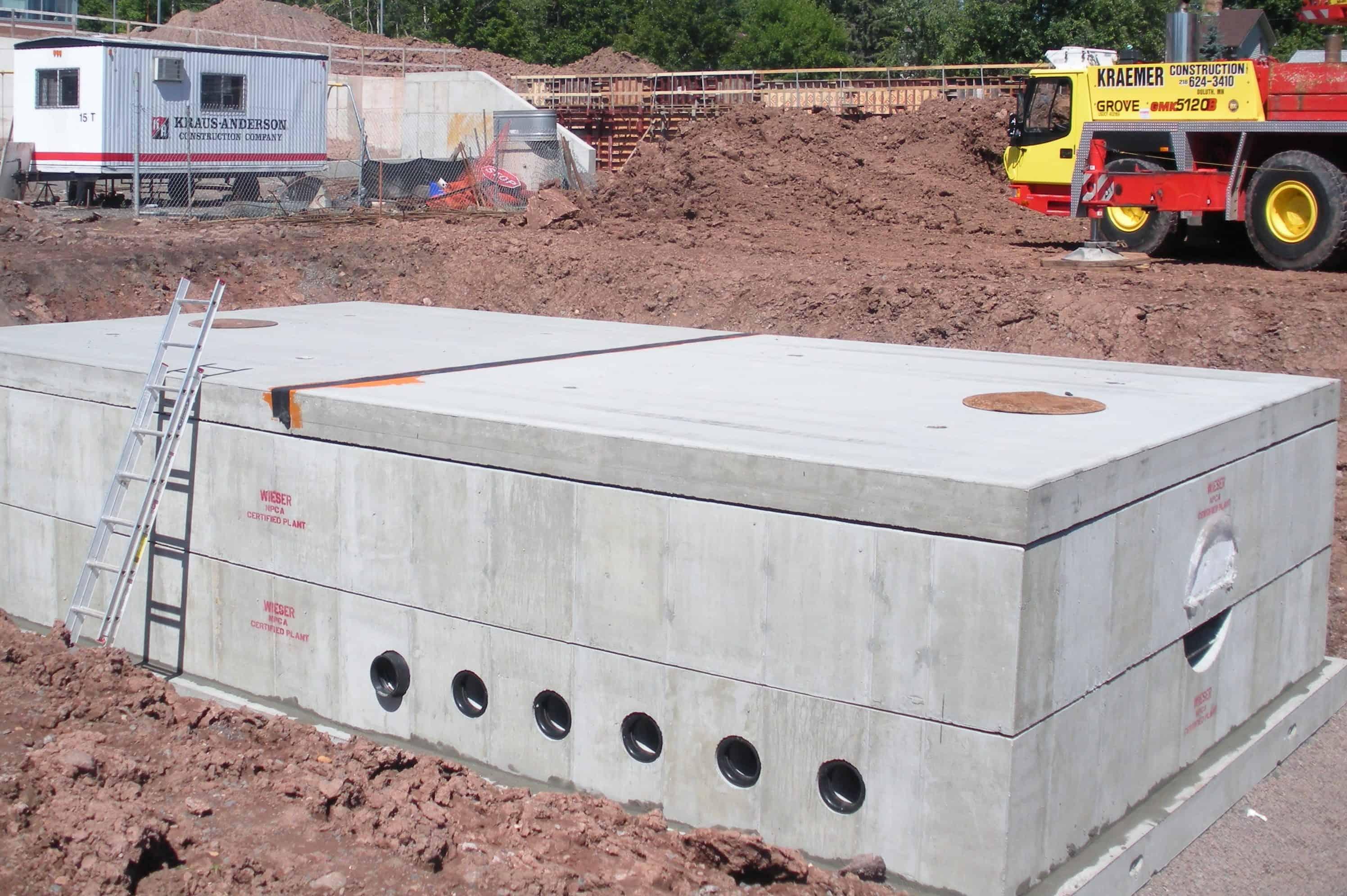 Precast Concrete Utility Vault Ulland Brothers Duluth MN