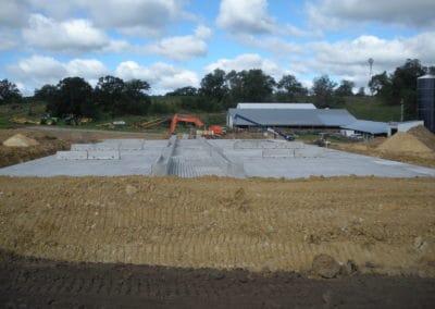 Slatted Floor Manure Storage Barn Holty Precast Concrete