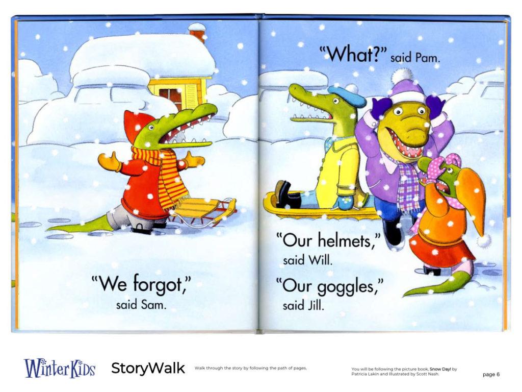 WinterKids Story Walk Page 7