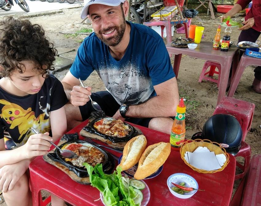Vietnamese Breakfast Op La