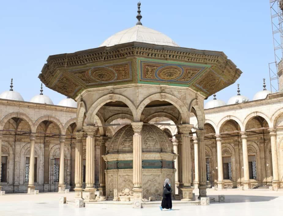 Mosque Courtyard Cairo