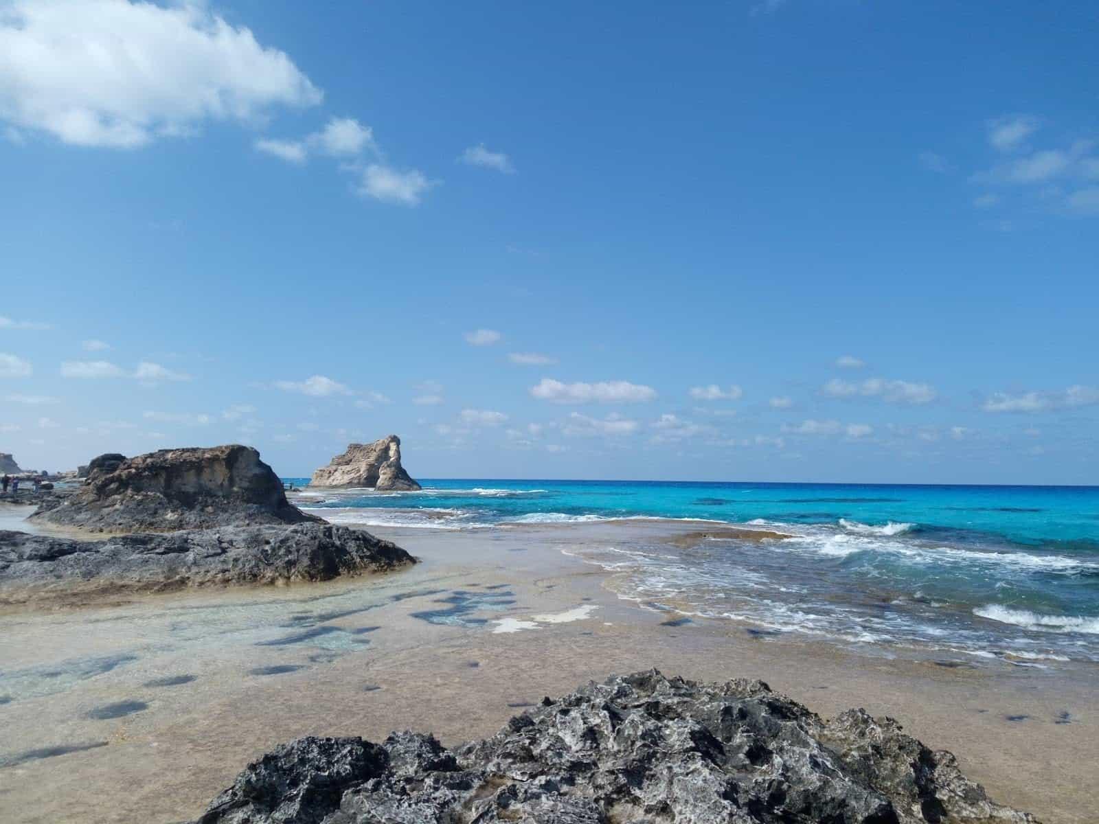 Egypt Beaches Cleopatra's Rock Marsa Matruh Egypt