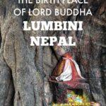 Visiting the birth place of Lord Buddha Lumbini Nepal