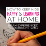How to keep kids happy and learning at home all day pinterest