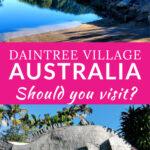 Daintree Village Pinterest Pin