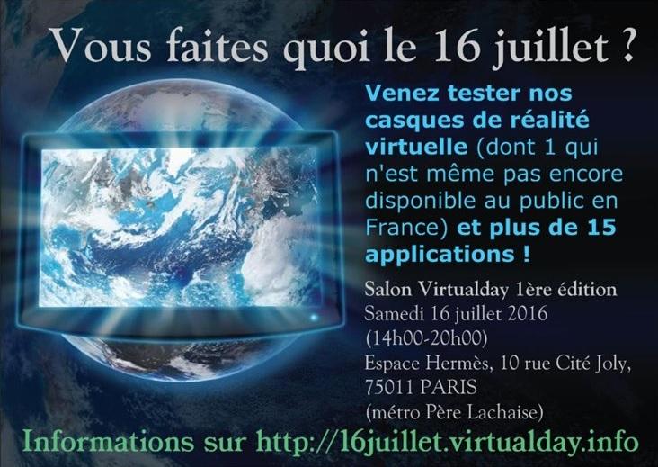 réalité virtuelle The Virtual Day