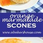 orange marmalade scones