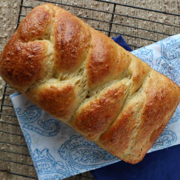Italian Easter Cheese Bread