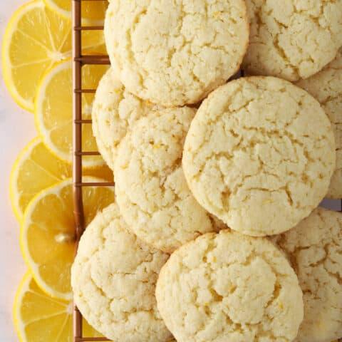Lemon Almond Flour Cookies