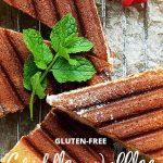 Gluten free griddle pan waffles