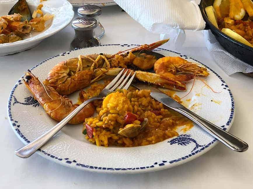 Seafood Paella Benalmadena