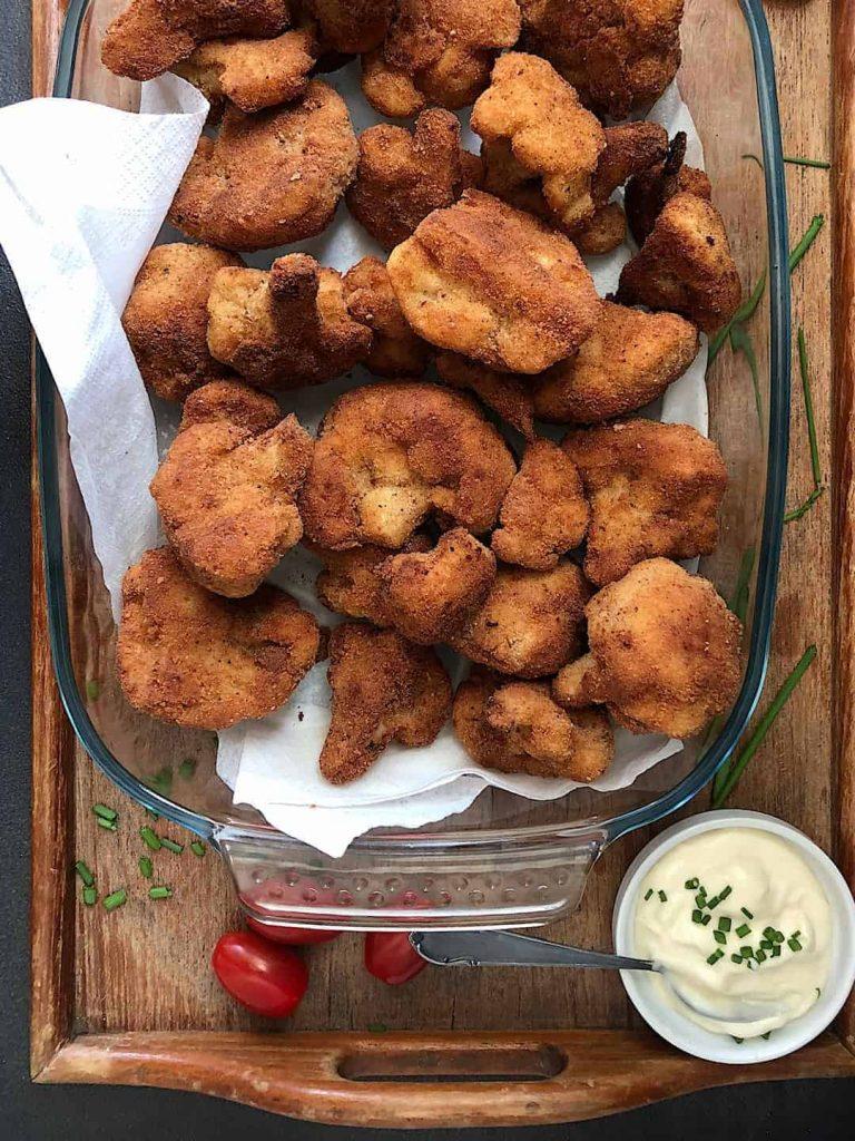 Crispy Fried Cauliflower Recipe