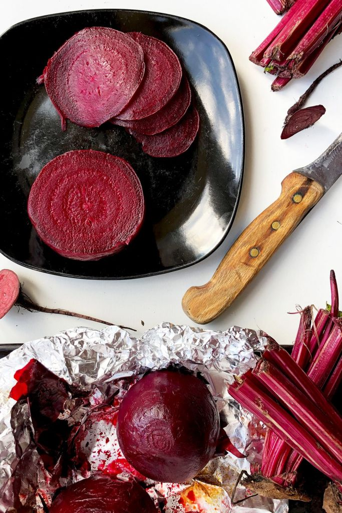 Whole Beetroot Roasted in the Oven