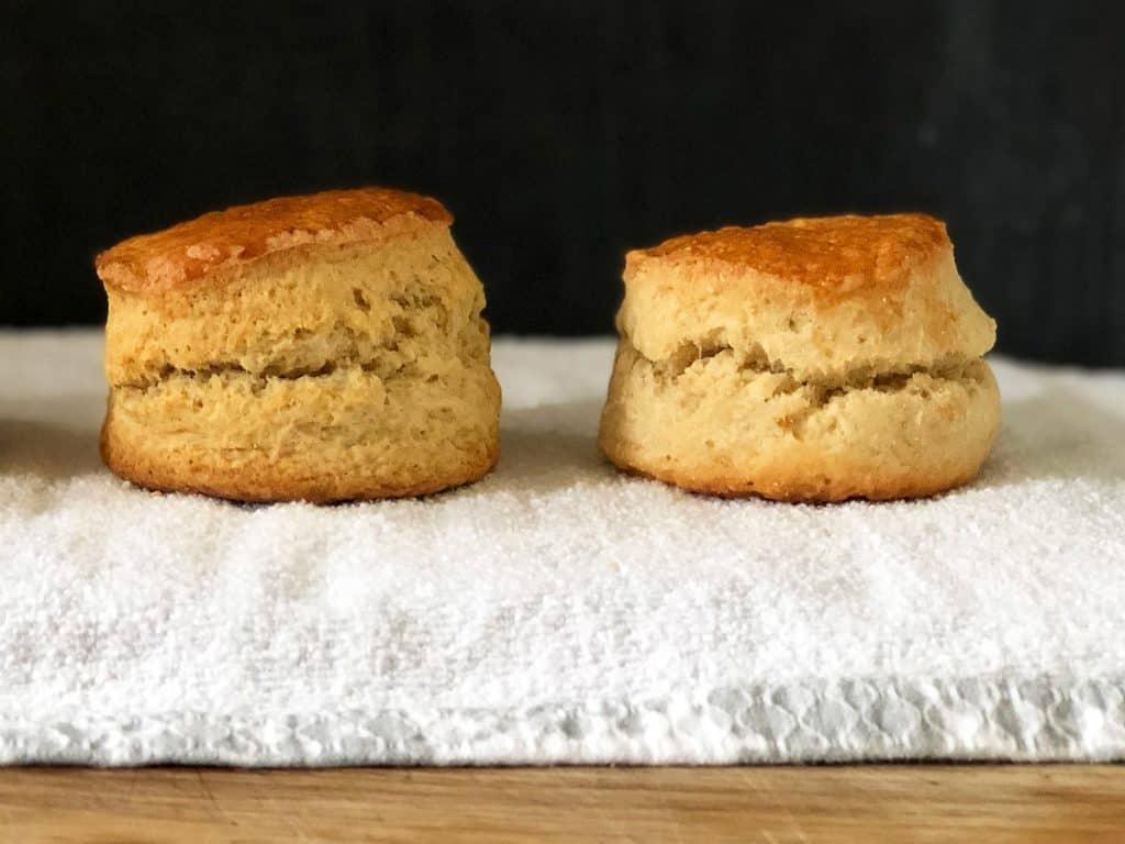 Bicarbonate soda scone vs Baking Powder scone