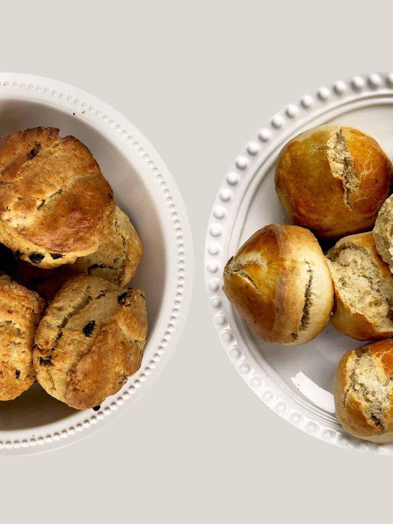 Jamie Oliver vs Paul Hollywood Scone Recipes