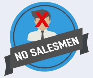 No Pushy Sales