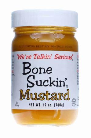 B001 - Bone Suckin' Mustard (Sweet) - 340g (12 oz)01