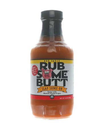 S019 - Rub Some Butt Carolina-Style BBQ Sauce - 510g (18 oz)01