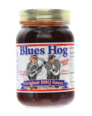 S032 – Blues Hog 'Original' BBQ Sauce – 0.473 l (1 US Pt – 16 oz)01