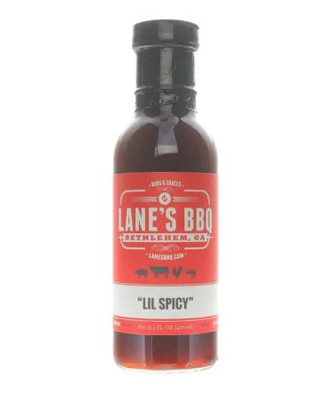 S283 - Lane's BBQ 'Lil Spicy' Sauce - 382g (13.5 oz)01