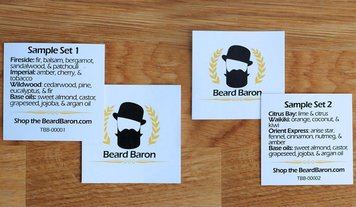 echantillons the beard baron