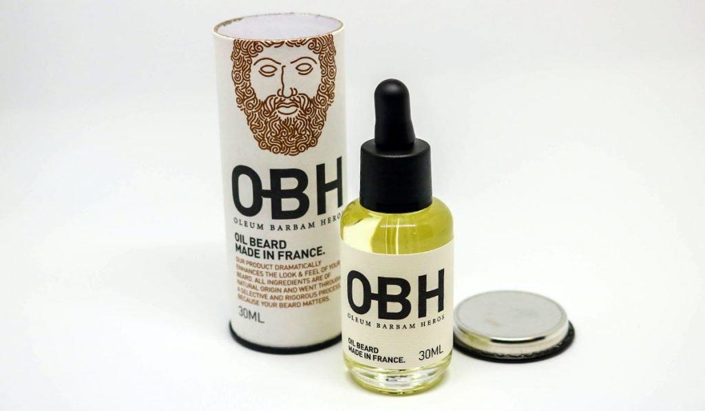 obh huile pour barbe non grasse