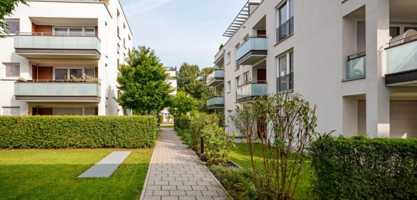 Das Mehrfamilienhaus besitzt die beste Flächennutzung unter den Haustypen