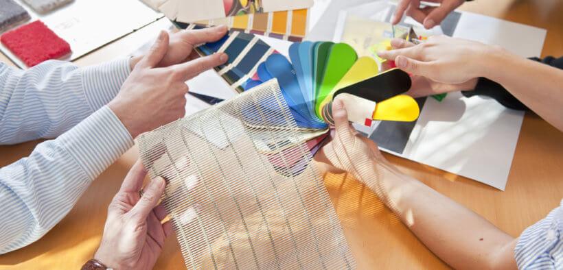 Das Raumausstatter Berufsbild umfasst Planung & Gestaltung.
