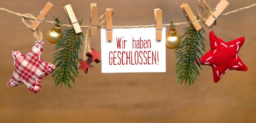 Vorm Weihnachtsurlaub sollte die Abwesenheit im Handwerksbetrieb gut vorbereitet sein.